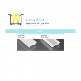 770.COP-T-PC  Copertura Terra (PC) per profili tipo SC  Power-Supply  Accessori Illuminazione