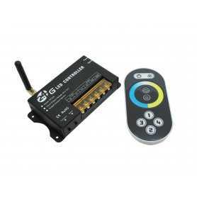 CCT-RF202-2CH | Controller Temperatura Colore - Telecomando RF - 2 Canali - 2.4G , Dimmer e Controller , Power-Supply