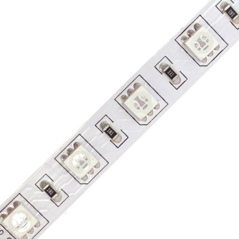H.5050.60.24-RGB  Strisce Led SMD 5050 RGB - 60 Led/m - 2160 Lumen 24V RGB  Power-Supply  Strisce di LED