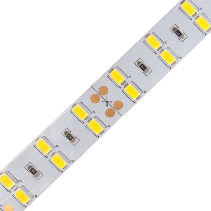 H.5630.120.2480-D  Strisce Led SMD 5630 - 120 led/m - 8450 lumen 24V Doppia Fila - CRI80  Power-Supply  Strisce di LED