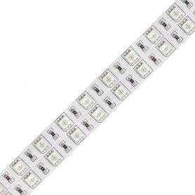 H.5050.120.24-RGB-D  Strisce Led SMD 5050 - 120 Led/m - RGB - 24V - Doppia Fila  Power-Supply  Strisce di LED