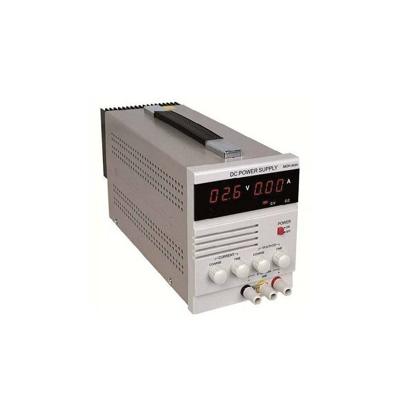 PS-LAB5-30  PS-LAB5-30 - Alimentatore da Laboratorio Singolo 150W / 5A - Ingresso 100-240 VAC  Power-Supply  Alimentatori Lab...