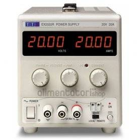 EX2020R Alimentatore DC 400W / 20V / 20A , Alimentatori Laboratorio , Power-Supply