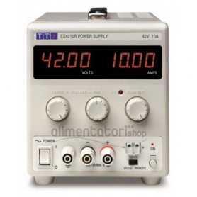 EX4210R  EX4210R - Alimentatore da Laboratorio Singolo 420W / 42V / 10A - Input 100-240 VAC  AimTTi  Alimentatori Laboratorio