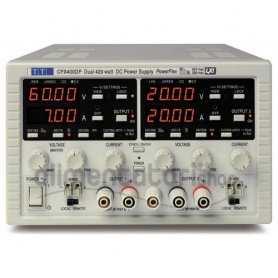 CPX400D  CPX400D - Alimentatore da Laboratorio Duale 840W / 60V / 20A - Ingresso 100-240 VAC  AimTTi  Alimentatori Laboratorio