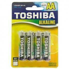 73.20050TB4  LR6 B4 Stilo Alkalina Toshiba - AA    Accessori Illuminazione