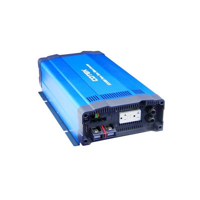 SD-3500-248  SD-3500-248 - Inverter Cotek 3500W - In 48V Out 220 VAC Onda Sinusoidale Pura - Transfer Switch STS  Cotek Elect...