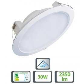 39.9TS042630  Faretto LED Slim da Incasso 30W - 2350 Lumen - CRI80  Life  Faretti Soffitto e Incasso