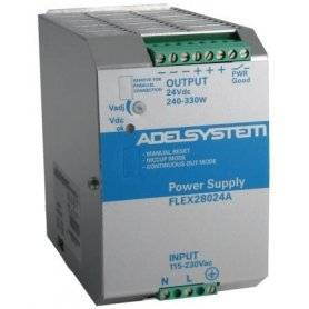 FLEX28024B Adelsystem FLEX28024B - Alimentatore Adelsystem - Din Rail 330W 24V - Input 380 VAC Alimentatori Automazione