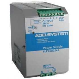 FLEX28024A FLEX28024A - Alimentatore Adelsystem - Din Rail 330W 24V - Input 110/220 VAC Adelsystem Alimentatori Automazione