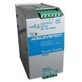 FLEX9024A Adelsystem FLEX9024A - Alimentatore Adelsystem - Din Rail 120W 24V - Input 110/220 VAC Alimentatori Automazione