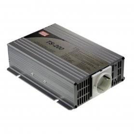 TS-200-212B  TS-200-212B - Inverter MeanWell 200W - In 12V Out 220 VAC Onda Sinusoidale Pura  MeanWell