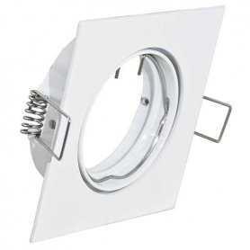 39.PS6126  Supporto Quadrato per Lampade LED - 81x81mm  Power-Supply  Accessori Illuminazione