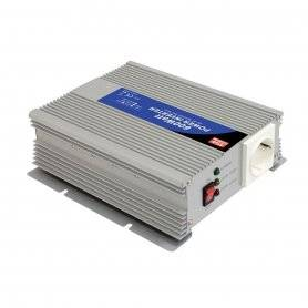 A301-600-F3  A301-600-F3 - Inverter MeanWell 600W - In 12V Out 220 VAC Onda Sinusoidale Modificata  MeanWell