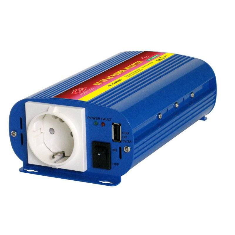 AP24-400NS - Inverter Alcapower 400W - In 24V Out 220 VAC Onda Sinusoidale Pura