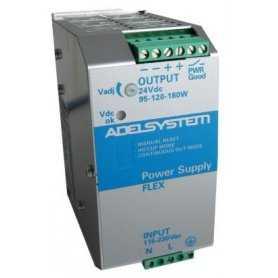 FLEX17024A Adelsystem FLEX17024A - Alimentatore Adelsystem - Din Rail 180W 24V - Input 110/220 VAC Alimentatori Automazione
