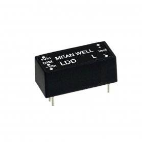 LDD-500L MeanWell LDD-500L | Alimentatore MeanWell 16W / 500mA | Corrente Costante CC Alimentatori LED