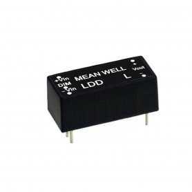 LDD-500LS MeanWell LDD-500LS | Alimentatore MeanWell 16W / 500mA | Corrente Costante CC Alimentatori LED
