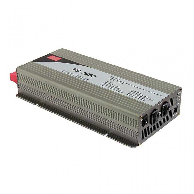 TS-1000-248B  TS-1000-248B - Inverter MeanWell 1000W - In 48V Out 220 VAC Onda Sinusoidale Pura  MeanWell