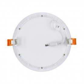 562.06.RB18  Faretto SuperSlim LED Rotondo 18W / IP20 / Ø225mm  Power-Supply  Faretti Soffitto e Incasso