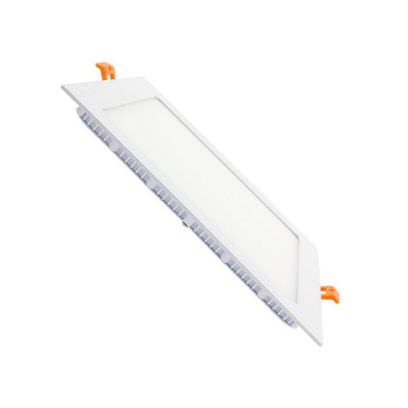 562.06.QB20  Faretto SuperSlim LED Quadrato 20W / IP20 / 235x235mm  Power-Supply  Faretti Soffitto e Incasso