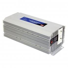 A302-2K5-F3 MeanWell A302-2K5-F3 - Inverter MeanWell 2500W - In 24V Out 220 VAC Onda Sinusoidale Modificata Inverters