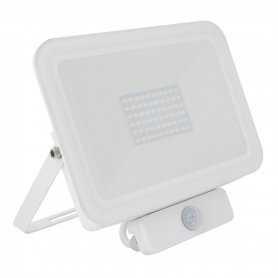562.12.QB50-PIR  Faro Proiettore LED da Esterno con Sensore di Movimento 50W IP65  Power-Supply  Proiettori Led per esterno