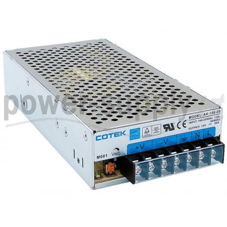 AK-150-24 Cotek Electronic AK-150-24 - Alimentatore Cotek - Boxed 150W 24V - Input 100-240 VAC Alimentatori Automazione
