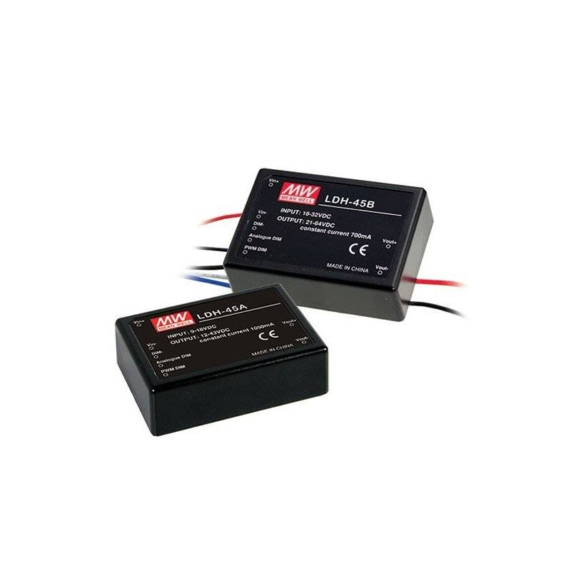 ldh-45a-350da - alimentatore led meanwell - cc - 30w / 350ma dali