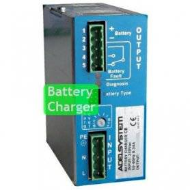 CB304A  CB304A- Carica Batterie Evoluto Adelsystem - 110W / 36V / 3A  Adelsystem  Caricabatterie