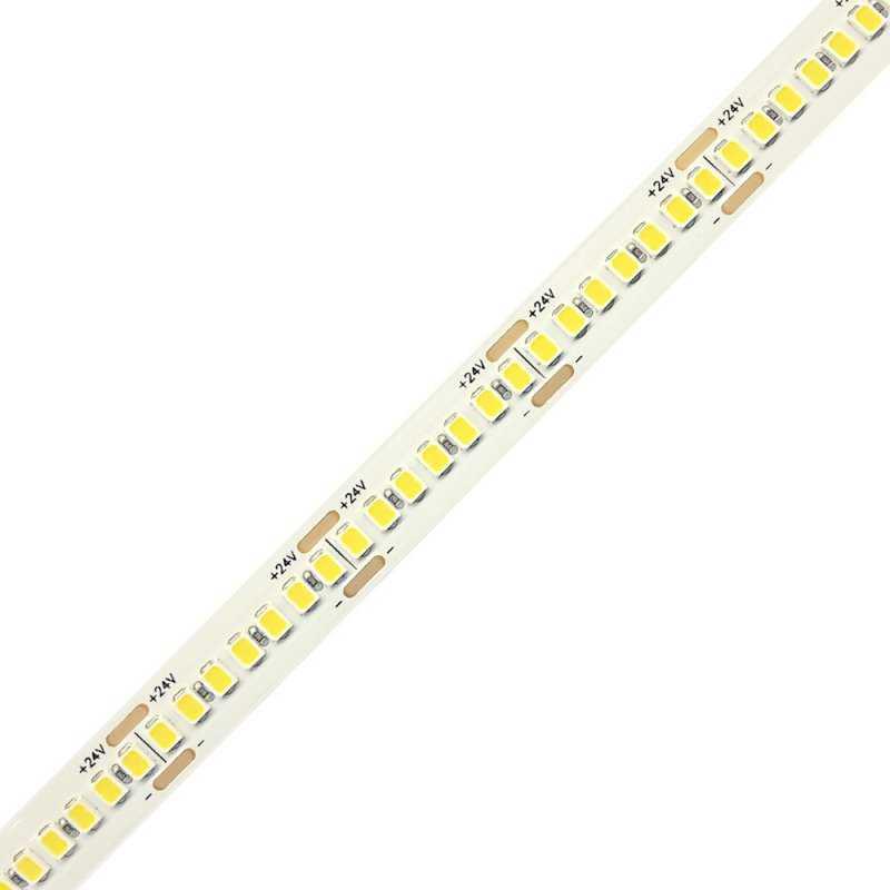 P.2835.238.2490  Strisce Led SMD 2835 - 238 led/m - 11400 Lumen 24V - CRI90  Power-Supply  Strisce di LED