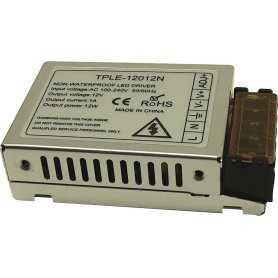 TPLE-12012N  TPLE-12012N - Alimentatore Top Power - Box Metallo - 12W 12V - Ingresso 100-240 VAC  Top Power  Alimentatori Aut...
