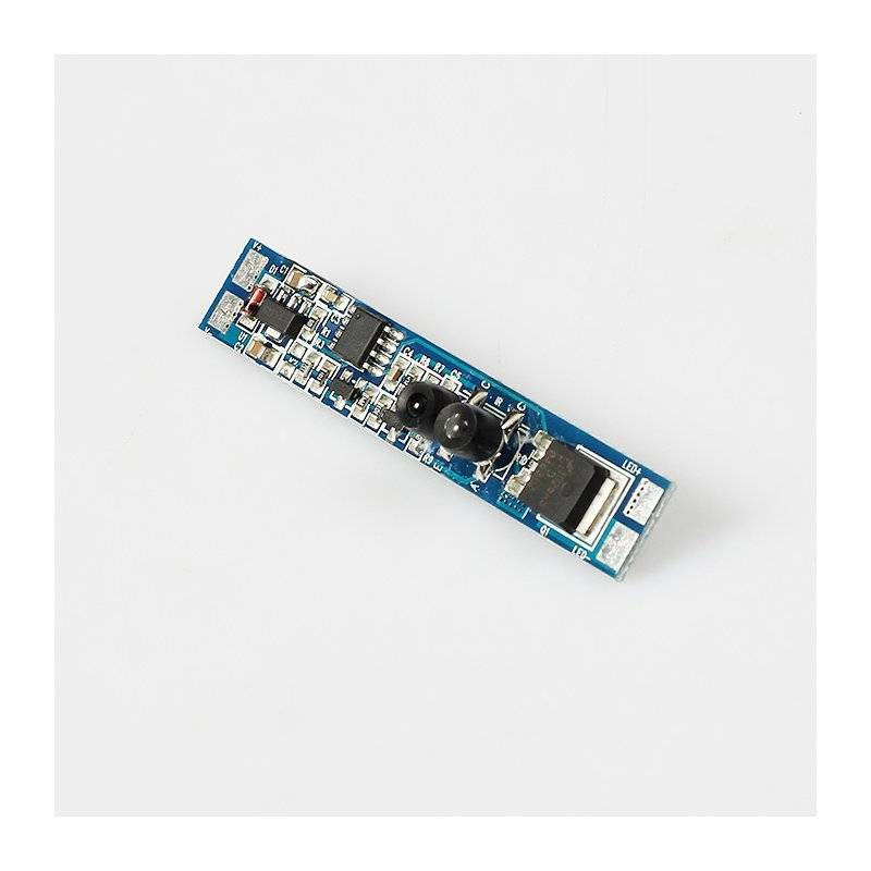 1310.IR001.SW  Power-Supply  1310.IR001.SW | Interruttore Mano - in.12V~24V - 192W max  Dimmer e Controller