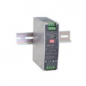 DDR-240B-48  DDR-240B-48 - Convertitore DC/DC MeanWell - CV - 240W / 48V - Ingresso 24VDC  MeanWell  Alimentatori Automazione