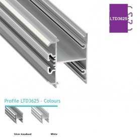 770.PAL.LTD3625 Luminos Light Profilo Alluminio LED MODELLO LTD3625 - Serie Luminos Profili Alluminio