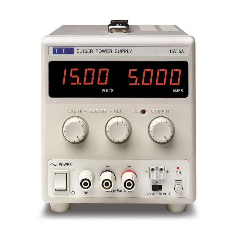 EL302R  EL302R - Alimentatore da Laboratorio Singolo 60W / 30V / 2A - Ingresso 100-240 VAC  AimTTi  Alimentatori Laboratorio