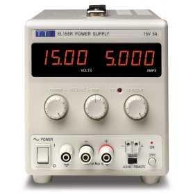 EL155R  EL155R - Alimentatore da Laboratorio Singolo 75W / 15V / 5A - Ingresso 100-240 VAC  AimTTi  Alimentatori Laboratorio