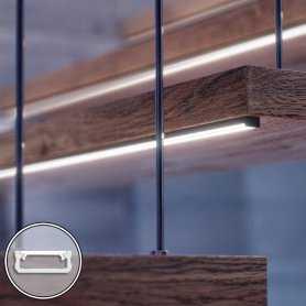 Barra LED su misura - 100cm max - Profilo Piatto D (6,3 x 16 mm) - Luminosità Medio/Alta