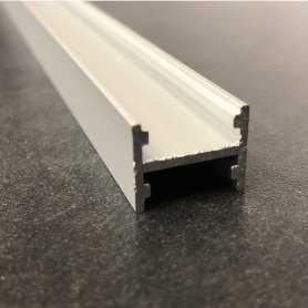 5657.pal.167137  5657.pal.167137 - Profilo Alluminio quadrato 16.7X13.7 mm  Profili Alluminio