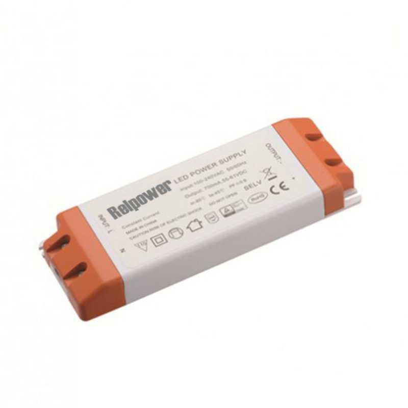 RSL40-24  RSL40-24 Alimentatore LED Relpower - CV - 36W / 24V  REL Power  Alimentatori AC/DC