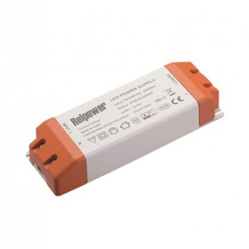 RSL80-12  RSL80-12 Alimentatore LED Relpower - CV - 75W / 12V  REL Power  Alimentatori AC/DC