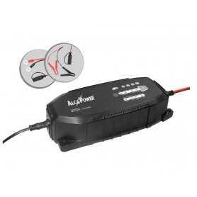 CLX-2  CLX-2 Carica batterie Smart 7,5A per batterie al Piombo Pb 12V, 24V e LiFePO4 12,8V  Alcapower  Caricabatterie