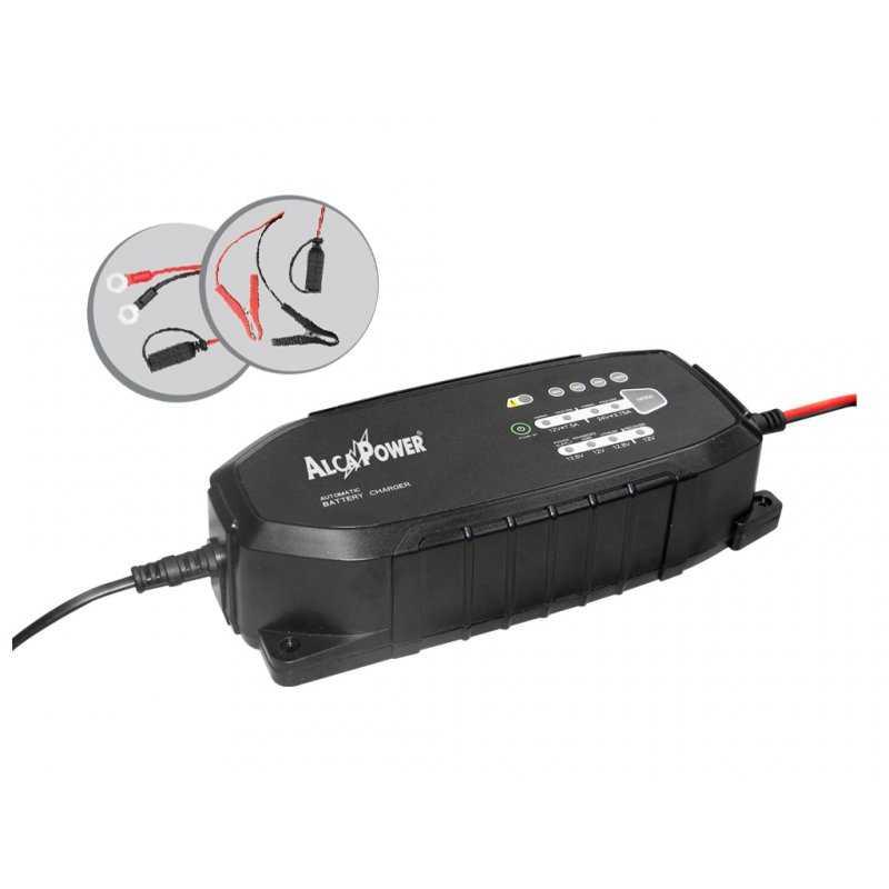 CLX-2- Carica Batterie Auto / Moto / Veicoli Alcapower - 180W / 24V  / 7,5A