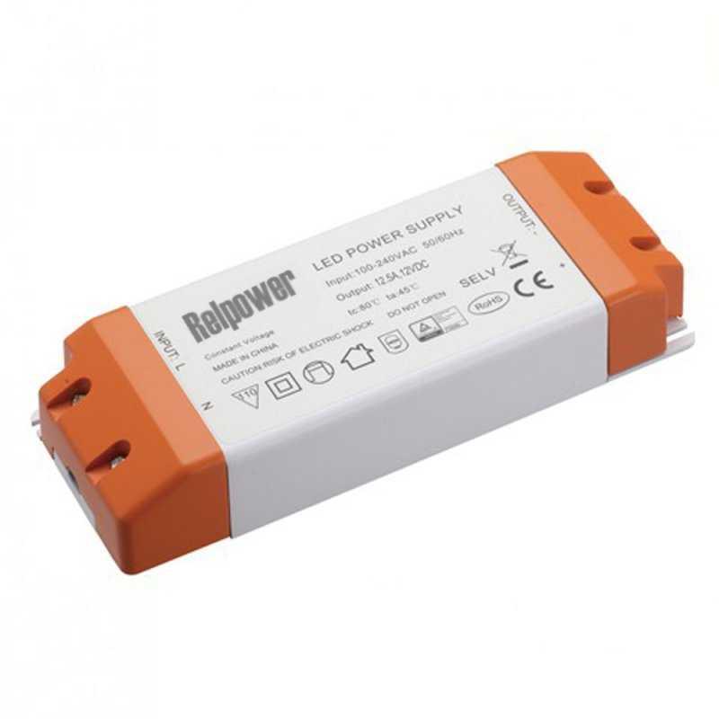 RSL250-24  RSL250-24 Alimentatore LED Relpower - CV - 250W / 24V  REL Power  Alimentatori AC/DC