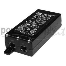 PSA16U-480(POE)  PSA16U-480(POE) - POE Midspan Injector Phihong - 16W - 1 Porta  Phihong   PoE Power