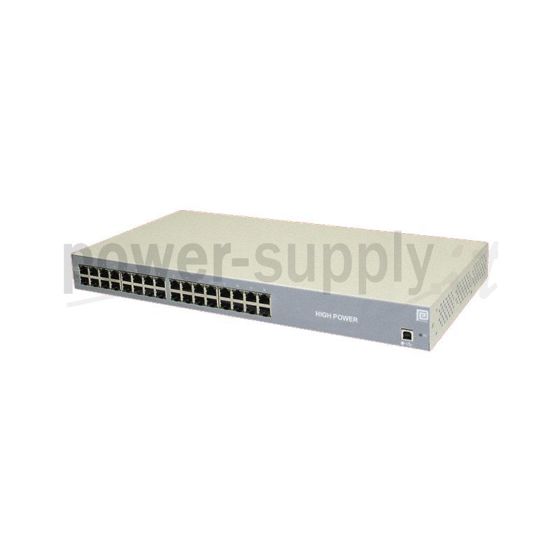 POE576U-16AT  POE576U-16AT - POE Midspan Injector Phihong - 576W - 16 Porte  Phihong   PoE Power