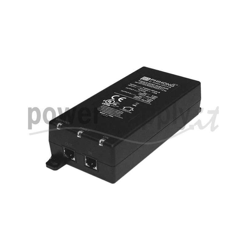POE60U-560G  POE60U-560G - POE Midspan Injector Phihong - 60W - 1 Porta  Phihong   PoE Power