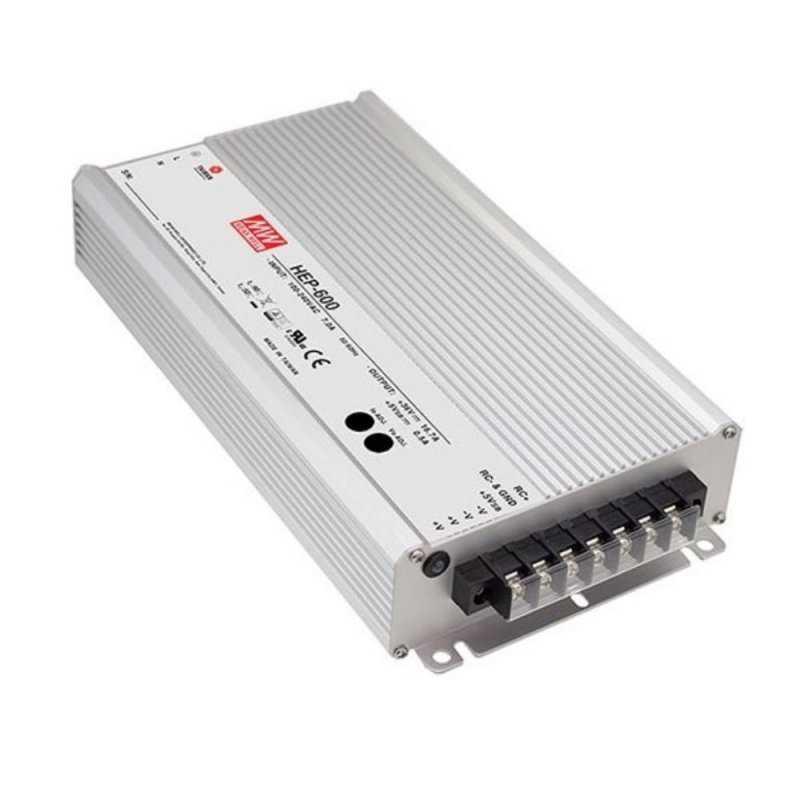 HEP-600-30  HEP-600-30 Alimentatore LED MeanWell - CV - 600W / 30V   MeanWell  Alimentatori LED