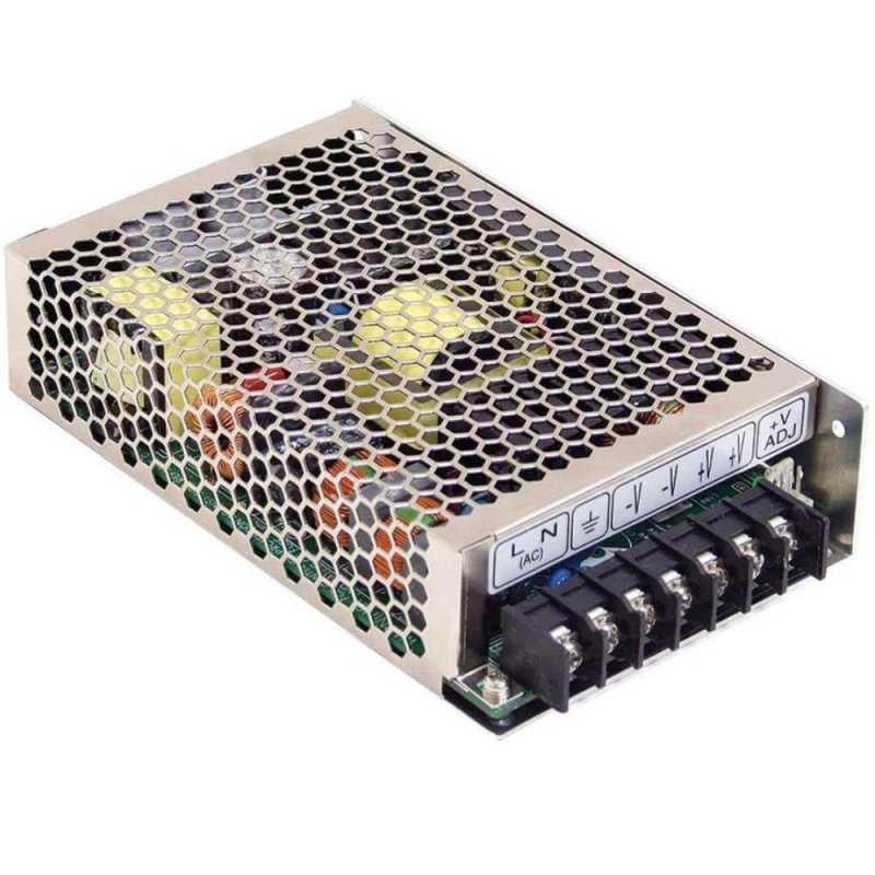 HRPG-150-24  HRPG-150-24 - Alimentatore Meanwell - Box Metallo - 150W 24V - Ingresso 100-240 VAC  MeanWell  Alimentatori Auto...