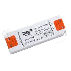 SNP40-12VF  SNP40-12VF Alimentatore LED Snappy - CV - 40W / 12V   Snappy  Alimentatori LED